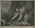 David Garrick ('Mr Garrick in the Character of Richard III'), by Charles Grignion, by and after  William Hogarth - NPG D34378
