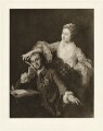 David Garrick; Eva Maria Garrick (née Veigel), after William Hogarth - NPG D34379