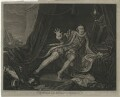 David Garrick ('Mr Garrick in the Character of Richard III'), by Charles Grignion, by and after  William Hogarth - NPG D34381