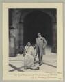 Chimnabai II, Maharani of Baroda; Sir Sayaji Rao III, Maharaja of Baroda, by Sir (John) Benjamin Stone - NPG x36466