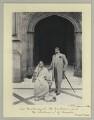 Chimnabai II, Maharani of Baroda; Sir Sayaji Rao III, Maharaja of Baroda, by Sir (John) Benjamin Stone - NPG x36467