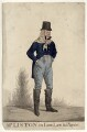 John Liston as Lubin Log in 'Love Law & Physic', by Richard Dighton, published by  Thomas McLean - NPG D34474