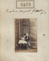 Margaret Katharine Alexander (née Grimston); Hugh Francis Grimston, by Camille Silvy - NPG Ax51812