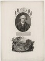 William Curtis with 'The Frontispiece to Mr Curtis' Flora Londinensis', by William Evans, published by  Robert John Thornton - NPG D34478