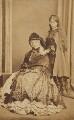 Georgina Aïdá (née Collier); (Alice) Elsie Tennant, by Unknown photographer - NPG Ax68308