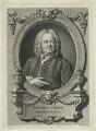 James Gibbs, by Bernard Baron, after  William Hogarth - NPG D34450