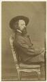 Alfred, Lord Tennyson, by William Jeffrey - NPG x12998