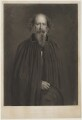 Alfred, Lord Tennyson, by Thomas Oldham Barlow, published by  Fine Art Society Ltd, after  Sir John Everett Millais, 1st Bt - NPG D34498