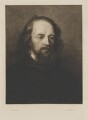 Alfred, Lord Tennyson, by Sir Francis Job ('Frank') Short, after  George Frederic Watts - NPG D34497