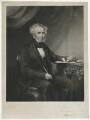 James William Gilbart, by George Zobel, after  Thomas Richard Williams - NPG D34470