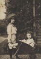 Leopold Hamilton Myers; Silvia Constance Myers, by Eveleen Myers (née Tennant) - NPG Ax68393