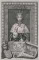 King Richard II, by George Vertue, after  Unknown artist - NPG D9389