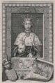 King Richard II, by George Vertue, after  Unknown artist - NPG D9389