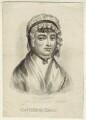 Catherine Hayes (née Hall), by John Chapman - NPG D34577