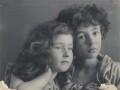 Silvia Constance Myers; Leopold Hamilton Myers, by Eveleen Myers (née Tennant) - NPG Ax68404