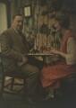 Katharine Legat (née Edis); Sir Eric Campbell Geddes, by (Mary) Olive Edis (Mrs Galsworthy) - NPG x132476