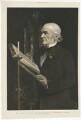 William Ewart Gladstone ('Mr Gladstone reading the lesson in Hawarden Church'), after Sydney Prior Hall - NPG D34520