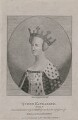 Probably Catherine of Valois, by Silvester Harding, published by  E. & S. Harding, after  Unknown artist - NPG D9396