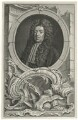 Sidney Godolphin, 1st Earl of Godolphin, by Jacobus Houbraken, published by  John & Paul Knapton, after  Sir Godfrey Kneller, Bt - NPG D34582