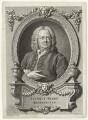 James Gibbs, by Bernard Baron, after  William Hogarth - NPG D34495