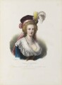 Marie Antoinette of France, by Émile Desmaisons, printed by  François Le Villain, published by  Edward Bull, published by  Edward Churton, after  Elisabeth-Louise Vigée-Le Brun - NPG D34624