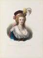 Marie Antoinette of France, by Émile Desmaisons, printed by  François Le Villain, published by  Edward Bull, published by  Edward Churton, after  Elisabeth-Louise Vigée-Le Brun - NPG D34624