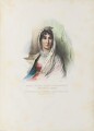 Maria Letizia Bonaparte, by Achille Devéria, printed by  François Le Villain, published by  Edward Bull, published by  Edward Churton, after  François Pascal Simon, Baron Gérard - NPG D34630