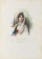 Maria Letizia Bonaparte, by Achille Devéria, printed by  François Le Villain, published by  Edward Bull, published by  Edward Churton, after  François Pascal Simon, Baron Gérard - NPG D34630