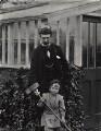 Charles Rennie Mackintosh with Hamish Reid Davidson, by James Craig Annan - NPG x132518