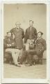 Richard James Cross; William Wood; Henry Duncan Wood; John Walter Cross, by Samuel Anderson - NPG x16998