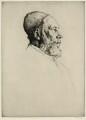 Frederick Goulding, by William Strang, printed by  David Strang - NPG D34652