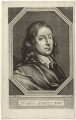 Thomas Stanley, by William Faithorne, after  Sir Peter Lely - NPG D34773