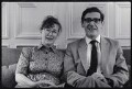 Valerie Thomas (née Little); Sir Keith Vivian Thomas, by Judith Aronson - NPG x132536