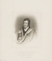 John Bligh, 4th Earl of Darnley, by Henry Meyer, published by  T. Cadell & W. Davies, after  John Wright, after  Thomas Phillips - NPG D34681