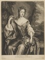 Madam D'Avenant, by and published by John Smith, after  Sir Godfrey Kneller, Bt - NPG D34693