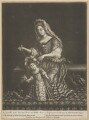 Prince James Francis Edward Stuart; Mary of Modena, by Jacob Gole, after  Unknown artist - NPG D34722