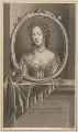 Mary of Modena, by Jean Audran, after  Adriaen van der Werff - NPG D34726