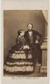 Queen Victoria; Prince Albert of Saxe-Coburg-Gotha, by John Jabez Edwin Mayall - NPG x26100