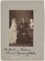 Queen Alexandra; Queen Victoria; King Edward VII, by John Jabez Edwin Mayall - NPG x30570