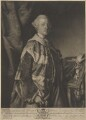 Granville Leveson-Gower, 1st Marquess of Stafford, by Edward Fisher, after  Sir Joshua Reynolds - NPG D9408