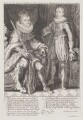 King James I of England and VI of Scotland; Henry, Prince of Wales, by Willem de Passe - NPG D9484