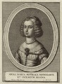 Mariana of Austria, Queen of Spain, by Wenceslaus Hollar, published by  Cornelis Galle the Younger - NPG D34775