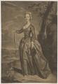 possibly Gratiana Davenport (née Rodd), by Alexander van Aken, after  Joseph van Aken - NPG D34810
