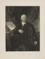David Davies, by Edward Scriven, published by  Agnew & Zanetti, after  Joseph Allen - NPG D34814