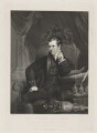 Sir Humphry Davy, Bt, by William Henry Worthington, published by  Agnew & Zanetti, and published by  Rudolph Ackermann, after  James Lonsdale - NPG D34826