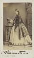Constance Ann (née L'Estrange), Lady Muncaster, by Fratelli Vianelli (Giuseppe & Luigi Vianelli) - NPG Ax10012