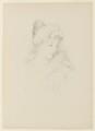 Norah Mary Madeleine Lindsay (née Bourke), after (Marion Margaret) Violet Manners (née Lindsay), Duchess of Rutland - NPG D9486