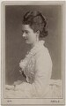 Georgina Elizabeth Ward (née Moncreiffe), Countess of Dudley, by Adèle - NPG Ax28554