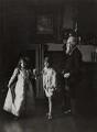 Mr Neal; Queen Elizabeth, the Queen Mother; Sir David Bowes-Lyon, by Lafayette (Lafayette Ltd) - NPG Ax29344
