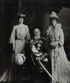 Princess Victoria of Wales; King Edward VII; Queen Alexandra, by Lafayette (Lafayette Ltd) - NPG Ax29372
